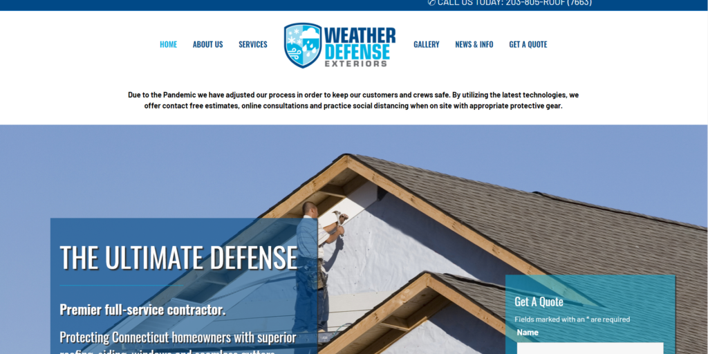 Weather Defense Exteriors